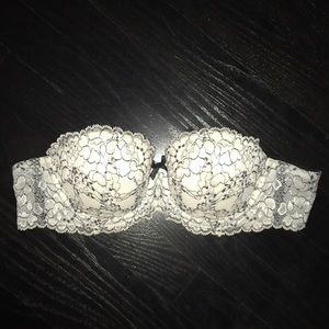New Victoria's Secret lace angels strapless bra
